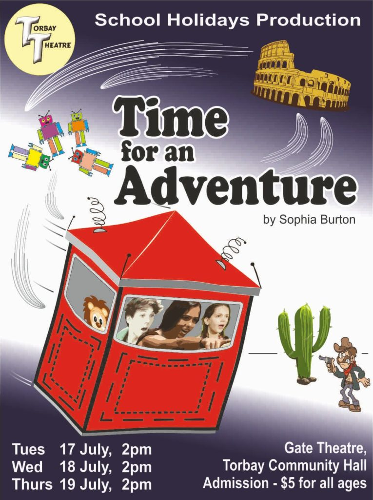 Time for and Adventure Poster