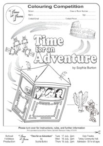 Time for an Adventure Colouring Comp