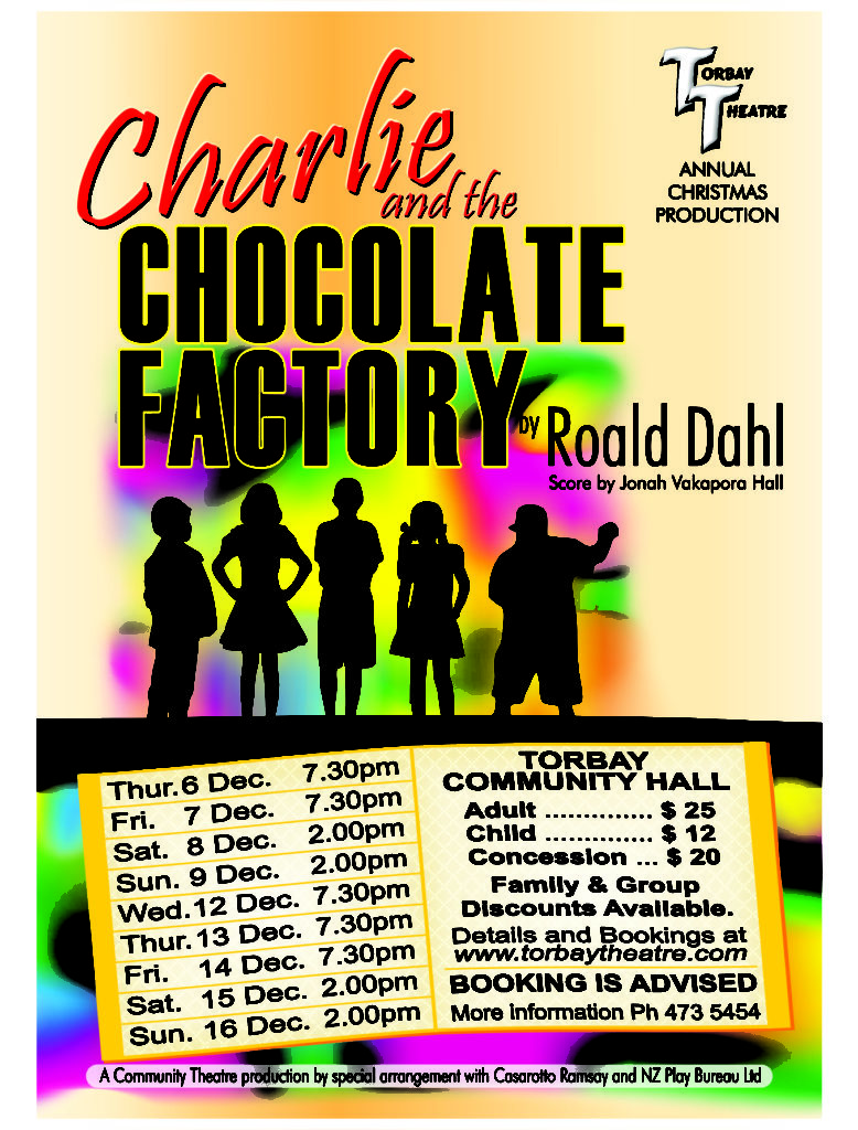 Charlie and the Cholocate Factory Poster