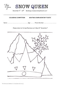 Snow Queen - Crown - Competition Entry Form